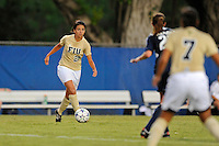 27 August 2011:  FIU's Paula Zuluaga (26) moves the ball upfield in the first half as the FIU Golden Panthers defeated the University of Arkon Zips, 1-0, at University Park Stadium in Miami, Florida.