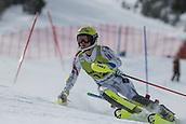 17th March 2018, Àvet Slope, Soldeu, Andorra; FIS Alpine Ski European Cup, Slalom Ladies Finals; #12 HOERNBLAD Lisa from SWE during the Giant Slalom Final