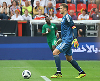 Torwart Manuel Neuer (Deutschland Germany) - 08.06.2018: Deutschland vs. Saudi-Arabien, Freundschaftsspiel, BayArena Leverkusen