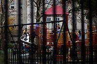 Children play at a public park at Manhattan's Chinatown in New York, Nov 11, 2013. VIEWpress/Eduardo Munoz Alvarez