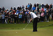 29th September 2017, Windross Farm, Auckland, New Zealand; LPGA McKayson NZ Womens Open, second;  USA's Emily Tubert putts on the 18th