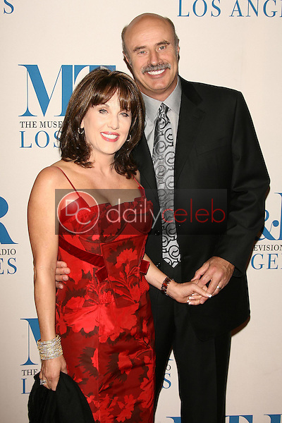 Robin McGraw and Dr. Phil McGraw<br />