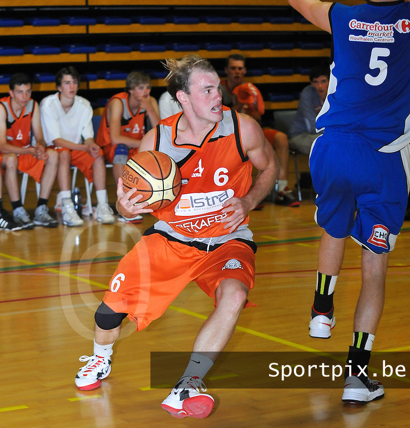 Holstra Wevelgem : Amaury Tandt.foto VDB / BART VANDENBROUCKE
