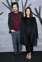 "09 January 2020 - West Hollywood, California - Jason Bateman, Amanda Anka. Premiere Of HBO's ""The Outsider"" - Los Angeles  held at DGA Theater. Photo Credit: Birdie Thompson/AdMedia"