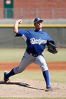 Paul Koss - Los Angeles Dodgers, 2009 Instructional League.Photo by:  Bill Mitchell/Four Seam Images..