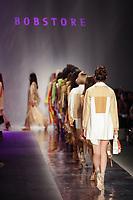 SAO PAULO, SP 23.04.2019 - MODA-SP - Desfile da grife Bobstore na ediçao 47 da Sao Paulo Fashion Week (SPFW), no Espaço Arca, zona oeste da cidade de Sao Paulo nesta terça-feira, 23. (Foto: Felipe Ramos / Brazil Photo Press / Folhapress).