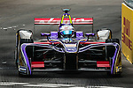 Sam Bird of DS Virgin Racing team during the first race of the FIA Formula E Championship 2016-17 season HKT Hong Kong ePrix at the Central Harbourfront Circuit on 9 October 2016, in Hong Kong, China. Photo by Victor Fraile / Power Sport Images