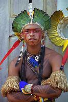 Brazil,Amazon -  20/09/2002 - Indian  Pataxó .