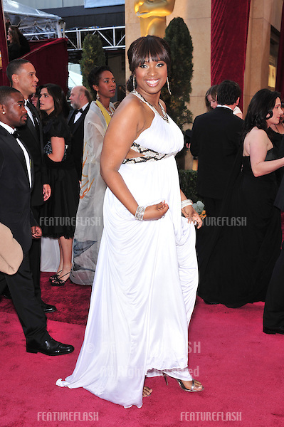 Jennifer Hudson at the 80th Annual Academy Awards at the Kodak Theatre, Hollywood, CA..February 24, 2008 Los Angeles, CA.Picture: Paul Smith / Featureflash