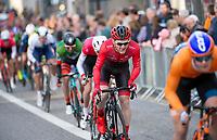 Picture by Allan McKenzie/SWpix.com - 17/05/2018 - Cycling - OVO Energy Tour Series Mens Race Round 3:Aberdeen - Vitus' Berty Newey.