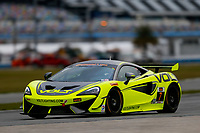 5-8 January, 2017, Daytona Beach, Florida USA<br /> 7, McLaren, McLaren GT4, GS, Alan Brynjolfsson, Chris Hall<br /> ©2017, Jake Galstad<br /> LAT Photo USA