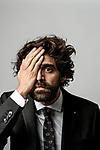 David Verdaguer poses during a portrait session.
