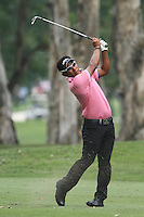 Thongchai Jaidee (THA) on the 6th during Round 2 of the UBS Hong Kong Open 2012, Hong Kong Golf Club, Fanling, Hong Kong. 16/11/12...(Photo Jenny Matthews/www.golffile.ie)