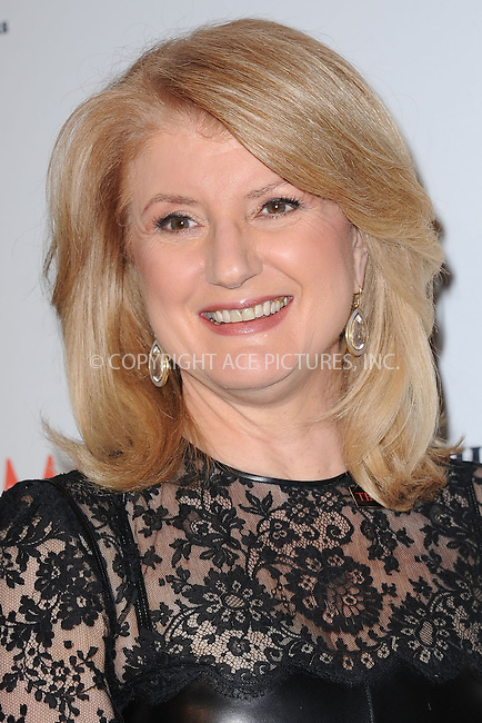 WWW.ACEPIXS.COM . . . . . .April 23, 2013...New York City....Arianna Huffington attends TIME 100 Gala, TIME'S 100 Most Influential People In The World at Jazz at Lincoln Center on April 23, 2013 in New York City ....Please byline: KRISTIN CALLAHAN - ACEPIXS.COM.. . . . . . ..Ace Pictures, Inc: ..tel: (212) 243 8787 or (646) 769 0430..e-mail: info@acepixs.com..web: http://www.acepixs.com .