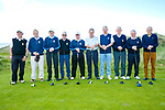 Killarney team at the JB Carr Final Ballybunion v Killarney at Ballybunion Golf Club on Friday. Pictured l-r Dermot Roche, John Clifford, John Hickey, Enda Curtuyne, Derry O'Connor, Jack Buckley, Davy O'Connor, John Wall, Padraig Griffin, Nick O'Brien