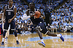 28 December 2016: Monmouth's Pierre Sarr. The University of North Carolina Tar Heels hosted the Monmouth University Hawks at the Dean E. Smith Center in Chapel Hill, North Carolina in a 2016-17 NCAA Division I Men's Basketball game. UNC won the game 102-74.