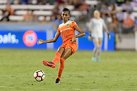 Houston, TX - Sunday August 13, 2017:  Bruna Benites during a regular season National Women's Soccer League (NWSL) match between the Houston Dash and FC Kansas City at BBVA Compass Stadium.