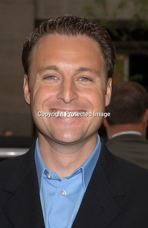 Chris Harrison of the Bachelor                               ..at the ABC Upfront announcement of the Fall Shows ..on May 13,2003 at Radio City Music Hall...Photo By Robin Platzer, Twin Images