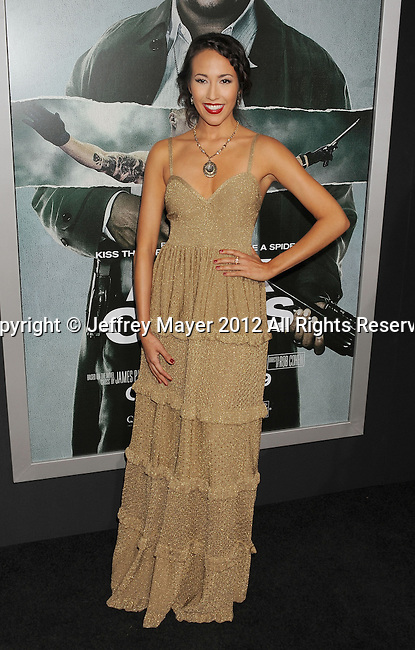 HOLLYWOOD, CA - OCTOBER 15: Marisa Quinn arrives at the Los Angeles premiere of 'Alex Cross' at the ArcLight Cinemas Cinerama Dome on October 15, 2012 in Hollywood, California.