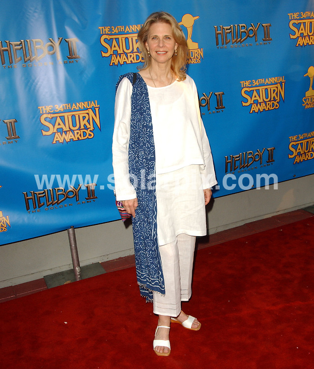 **ALL ROUND PICTURES FROM SOLARPIX.COM**.**SYNDICATION RIGHTS FOR UK, SPAIN, PORTUGAL, AUSTRALIA, S.AFRICA & DUBAI (U.A.E) ONLY**.The 34th Annual Saturn Awards held at the  Universal Hilton Hotel in Universal City in California in the USA. .This pic:Lyndsey Wagner.JOB REF:6728-PHZ/Albert L. Ortega    DATE:24_06_08 .**MUST CREDIT SOLARPIX.COM OR DOUBLE FEE WILL BE CHARGED* *UNDER NO CIRCUMSTANCES IS THIS IMAGE TO BE REPRODUCED FOR ANY ONLINE EDITION WITHOUT PRIOR PERMISSION*