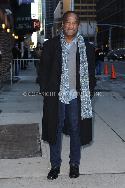 WWW.ACEPIXS.COM . . . . . <br /> February 11, 2015 New York City<br /> <br /> Isiah Whitlock, Jr. arrives to tape an appearance on the Late Show with David Letterman on February 11, 2015 in New York City.<br /> <br /> Please byline: Kristin Callahan...ACEPIXS.COM<br /> Tel: (212) 243 8787 or (646) 769 0430<br /> e-mail: info@acepixs.com<br /> web: http://www.acepixs.com
