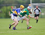 Ahane Paul O'Halloran &amp; Patrickswell Kelvin Lynch in action during their Senior Hurling Championship Round 1 Game played in Bruff Co.Limerick.<br /> Pictured Credit Brian Gavin Press 22