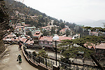 Shimla is the capital city of Himachal Pradesh. In 1864, Shimla was declared the summer capital of the erstwhile British Raj in India. A popular tourist destination, Shimla is often referred to as the &quot;Queen of Hills&quot; .The city is famous for its buildings styled in tudorbethan and neo-gothic architecture reminiscent of the colonial era, March 24, 2009.The center of Shimla. Bulging at its seams with unprecedented expansion, Shimla retains its&nbsp;colonial heritage, with grand old buildings, among them are the stately&nbsp;Viceregal Lodge, charming iron lamp posts and Anglo-Saxon names. <br />