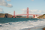 Baker Beach, Golden Gate Bridge, San Francisco, California, USA.  Photo copyright Lee Foster.  Photo # california108621