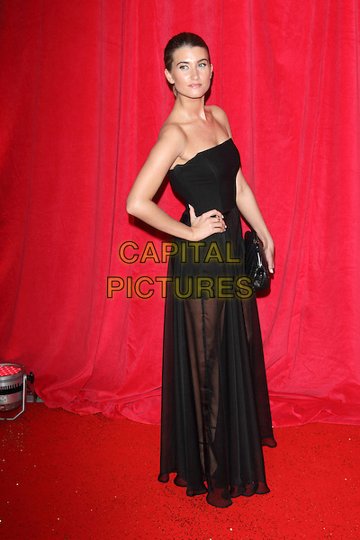 LONDON, ENGLAND - MAY 24: Charley Webb attends the British Soap Awards at Hackney Empire on May 24, 2014 in London, England<br /> CAP/ROS<br /> &copy;Steve Ross/Capital Pictures