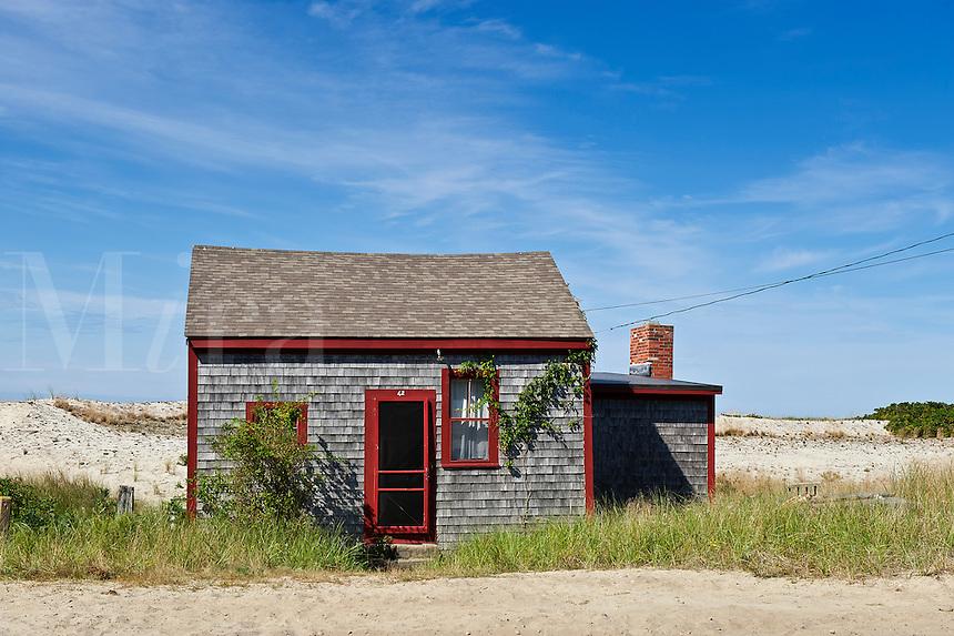 Beach cottage, Truro, Cape Cod, MA, Massachusetts, USA