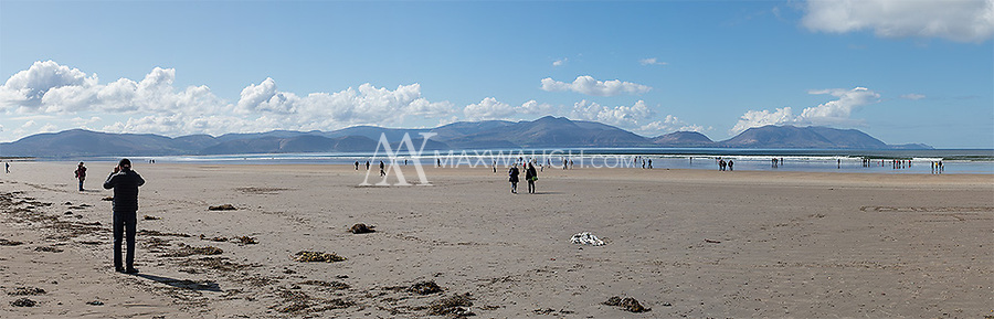 The long expanse of beach at Inch Strand was made famous by the 1970 film Ryan's Daughter.