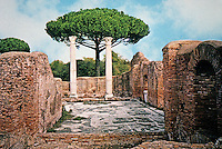 Italy: Ostia--7 Baths of Neptune. Begun A.D. 133.