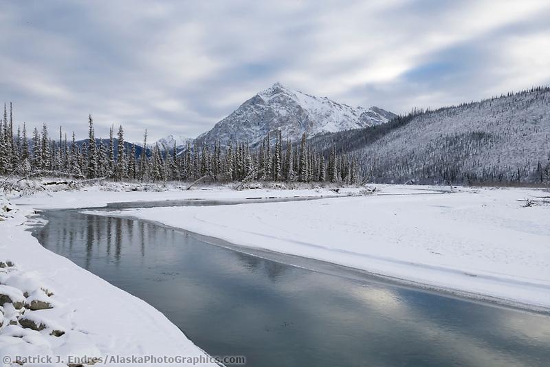 Mount Dillon and the Koyukuk river, Brooks Range, Alaska
