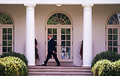 United States President Donald J. Trump walks to the Oval Office after he and First Lady Melania Trump visit Arlington National Cemetery ahead of Memorial Day, at the White House in Washington, D.C. on May 23, 2019. <br /> Credit: Kevin Dietsch / Pool via CNP