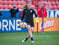Sandy, UT - October 18, 2016: The USWNT trains in preparation for their friendly against Switzerland at Rio Tinto Stadium.
