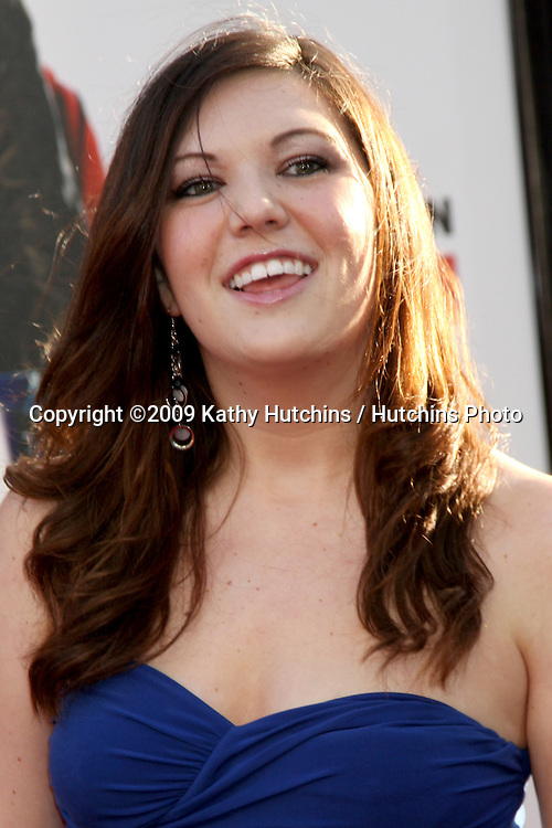 Courtney Fleming  arriving at the 17 Again Premiere at Grauman's Chinese Theater in Los Angeles, CA on April 14, 2009.©2009 Kathy Hutchins / Hutchins Photo....                .