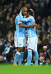 Vincent Kompany of Manchester City dejected as he is substituted off - Manchester City vs Sunderland - Barclays Premier League - Etihad Stadium - Manchester - 26/12/2015 Pic Philip Oldham/SportImage