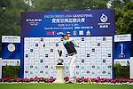 Kenneth De Silva of Malaysia tees off on the 1st hole during the Round 1 of the Faldo Series Asia Grand Final at Mission Hills on March 2, 2011 in Shenzhen, China. Photo by Raf Sanchez / Faldo Series