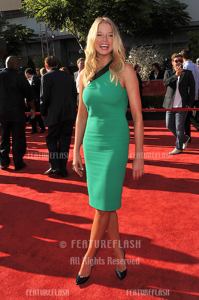 Rachel Nichols at the 2011 ESPY Awards at the Nokia Theatre LA Live in downtown Los Angeles..July 13, 2011  Los Angeles, CA.Picture: Paul Smith / Featureflash