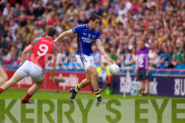 Kerry v  Mayo in the All-Ireland Semi Final in Croke Park on Sunday 21st August 2011..