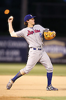 July 10, 2009:  Third Baseman Josh Vitters of the Daytona Cubs during a game at George M. Steinbrenner Field in Tampa, FL.  Daytona is the Florida State League High-A affiliate of the Chicago Cubs.  Photo By Mike Janes/Four Seam Images