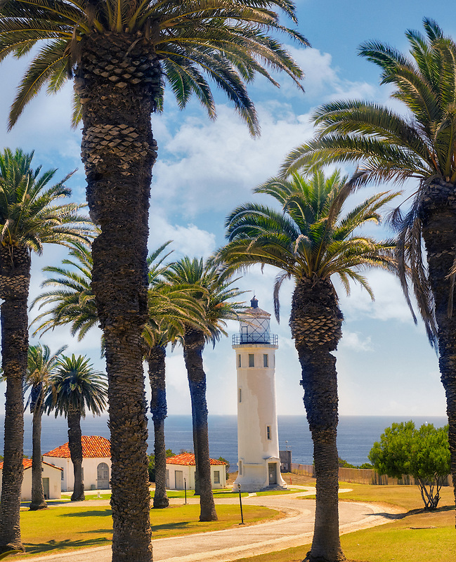 Palas Verdes Point Vicente Lighthouse, California