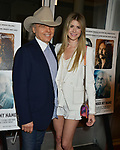 """Dwight Yoakam, Emily Joyce 041 attends the Premiere Of Sony Pictures Classic's """"David Crosby: Remember My Name"""" at Linwood Dunn Theater on July 18, 2019 in Los Angeles, California."""