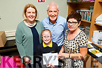 Attending the Castleisland Wisdom and Togetherness Book launch in Castleisland on Friday.<br /> Front l to r: Moya Butler<br /> Back l to r: Carol Butler, Paudie and Peggy Horan