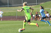 Piscataway, NJ - Sunday June 19, 2016: Jess Fishlock during a regular season National Women's Soccer League (NWSL) match between Sky Blue FC and Seattle Reign FC at Yurcak Field.