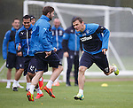 Kyle Hutton running backwards and beating Lee McCulloch