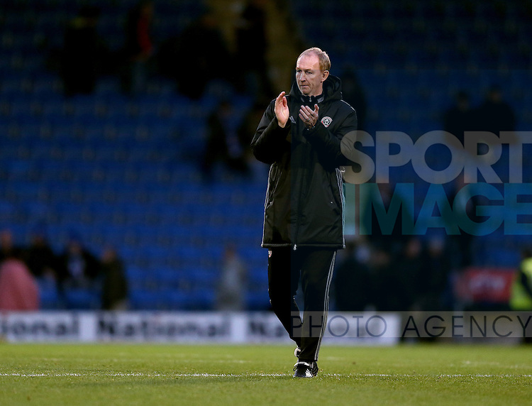 Alan Knill assistant manager during the English League One match at the Proact Stadium, Chesterfield. Picture date: November 13th, 2016. Pic Simon Bellis/Sportimage
