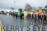 Members of the Right2Water Protest march on  Saturday in Tralee