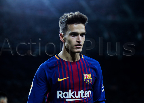 29th November 2017, Camp Nou, Barcelona, Spain; Copa Del Rey, Barcelona versus Real Murcia; Denis Suarez