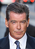 HOLLYWOOD, LOS ANGELES, CA, USA - AUGUST 13: Pierce Brosnan at the World Premiere Of Relativity Media's 'The November Man' held at the TCL Chinese Theatre on August 13, 2014 in Hollywood, Los Angeles, California, United States. (Photo by Xavier Collin/Celebrity Monitor)